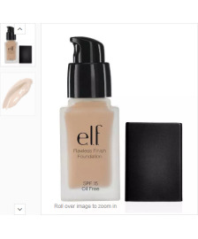 E.L.F. Flawless Finish Foundation Tonal Krem Porcelain