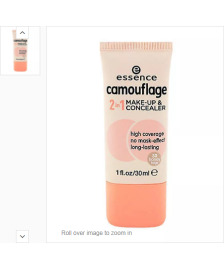 Essence Camouflage 2 in 1 Tonal Krem ve Konsiler Honey Beige
