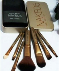 Naked 5 Urban Decay brush set