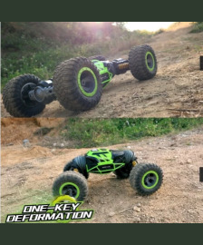 4WD Double Sided Stunt RC Car One Key Deformation Vehicle Monster Rock Crawler Off-road