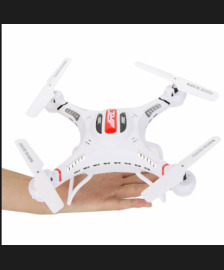 Drone 6-Axis Gyro RC Quadcopter with HD 2.0MP Camera BNF Drone without Transmitter