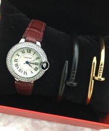 Cartier brendinin saatları